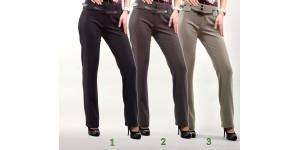Женские брюки  молодежные (175 модель) Костюмка