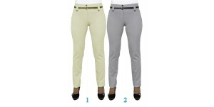Женские брюки  молодежные (218 модель) Лен