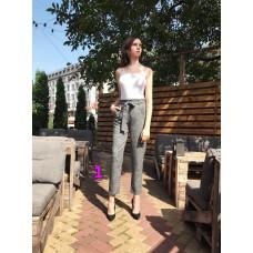 Женские брюки  кюлоты (432 модель) 42-52 Клетка
