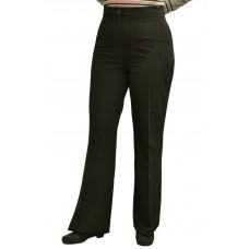 Женские брюки (модель Женский клеш) Мадонна коричневая