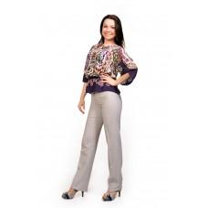 Женские брюки молодежные  (модель Лакоста Лён)