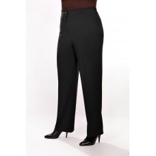Женские брюки классические  великаны (модель «Резинка») Серая