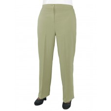 Женские брюки классические  великаны (модель «Резинка») Костюмка Беж